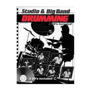 Studio and Big Band Drumming (Book and 2 CDs) Musical