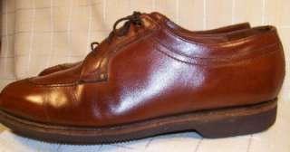 Johnston & Murphy Mens Brown Leather Dress Shoes Sz 9.5D