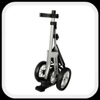 Push Pull Golf Cart   3 Wheel Aluminum w/ ball holders