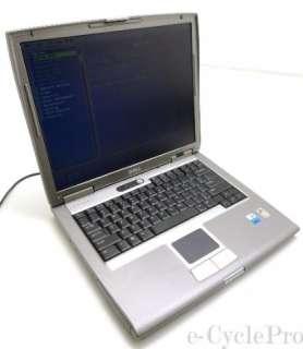 Dell Latitude D510 15 Laptop  1.73GHz Pentium M  512MB  40GB  DVD