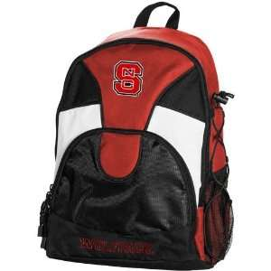 State Wolfpack Red Black Double Trouble Backpack