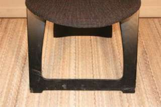 Vtg Mid Century Modern Peter Danko Black Plywood Sculpted Folding