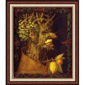 Winter by Giuseppe Arcimboldo   Framed Artwork Home
