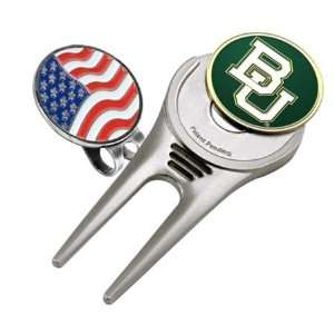 Baylor University Bears BU NCAA Cap Tool & Ball Marker