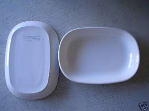 Lot of 2 Vintage Delta Airlines Corning Dishes LOOK