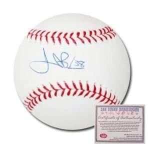 Jeremy Bonderman Detroit Tigers Hand Signed Rawlings MLB