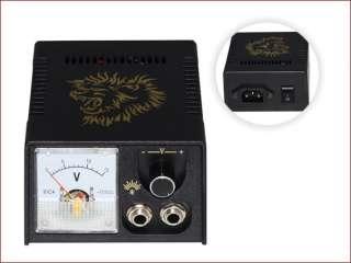 Complete Pro Tattoo Kit 2 Machine Gun 7 Ink 50 Neddle Power Equip Set