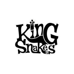 KING SNAKES BAND WHITE LOGO DECAL STICKER Everything Else