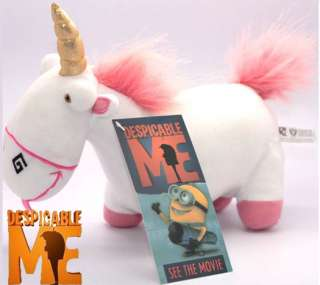 Despicable Me Minions Plush Toy Fluffy Unicorn Doll