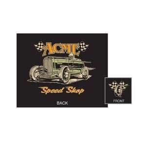Acme Speed Shop T Shirt (Black)   X Large Toys & Games