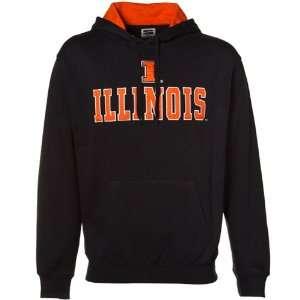 Illinois Fighting Illini Navy Blue Classic Twill Pullover Hoody