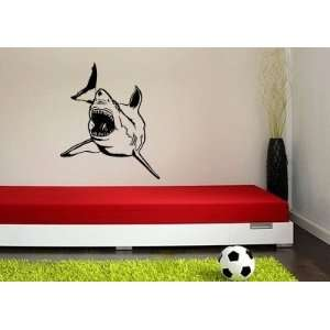 Shark Vinyl Wall Decal Sticker Graphic By LKS Trading Post