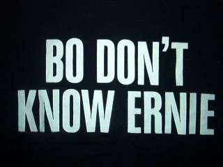 vtg BO DONT KNOW ERNIE HARWELL SHIRT Detroit Tigers S