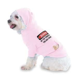 WARNING MY FOX TERRIER ATE THE DOG TRAINER Hooded (Hoody) T Shirt with