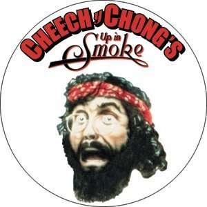 Cheech and Chong Up in Smoke Chong Button B US 0003 Toys