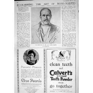 1925 IMPRESSION LORD MILNER CIRO PEARLS CALVERTS TOOTH