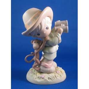 Precious Moments Life Can Be A Jungle Exclusive Explorer Figurine