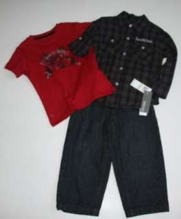 Kenneth Cole Reaction Toddler Boys 3 Piece Clothing Set