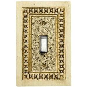 Covington Bone Hand painted Wood Switchplate: Home