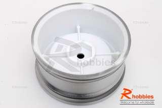 rc car vintage dh 3 offset 26mm chrome wheel rim set specification a