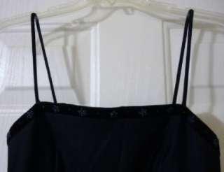 Rampage Navy Beaded Trim Dress Sz 7