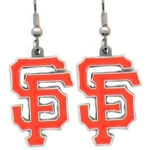 San Francisco Giants MLB Dangle Ear Rings