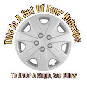 Set of Four Replica 2003   2004 15 inch Honda Accord Hubcaps   Wheel
