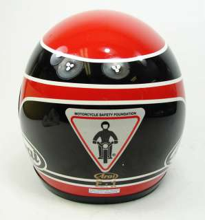 VINTAGE ARAI RANDY MAMOLA SIGNATURE MODEL RACING MOTORCYCLE HELMET F 1