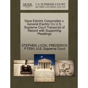 ): STEPHEN J COX, FREDERICK P FISH, U.S. Supreme Court: Books