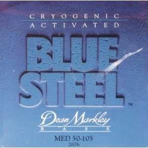 Dean Markley 2676 Blue Steel Cryogenic Medium Bass Strings