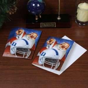 Duke Blue Devils 12 Pack Single Santa Painting Design