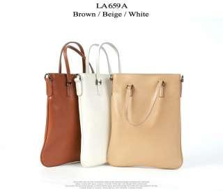 Womens LAFINI Genuine Cowhide Leather Shoulder Cross Body Tote Bag