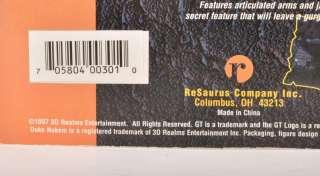 ReSaurus 1997 Series 1 DUKE NUKEM 6 Action Figure &Box