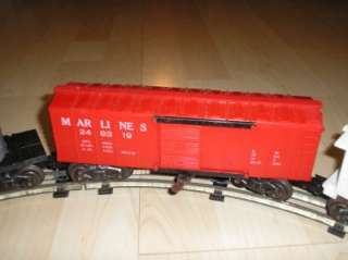 Old Vtg Mar Toys Marx Train Set Locomotive #490, Transformer #1209
