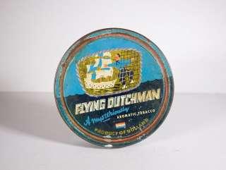 Antique Flying Dutchman Tobacco Tin