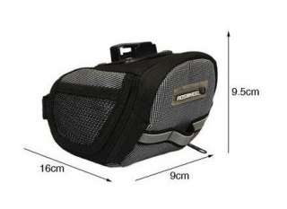 2012 Cycling Bicycle Bike Saddle Outdoor Pouch Seat Bag 600D