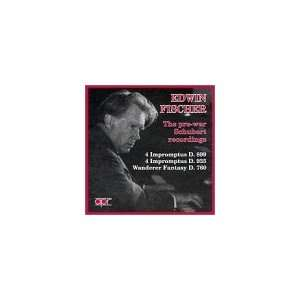 Edwin Fischer: The pre war Schubert Recordings: Franz