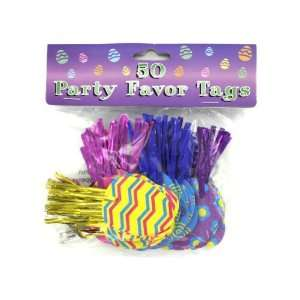 50 pack easter egg party favor tags   Pack of 72:  Home