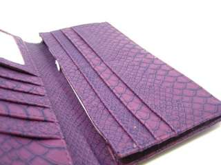 Beautiful Fashion Lady Wallet Purse Gift 159G11 Purple