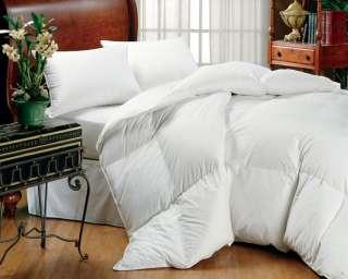 Oversize Eddie Bauer White Goose Down Comforter