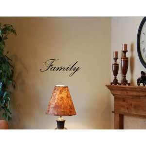 FAMILY Vinyl wall art quotes and sayings home decor decal