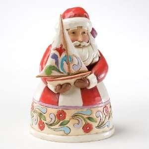 Jim Shore Heartwood Creek Santa with Sailboat *NEW 2011