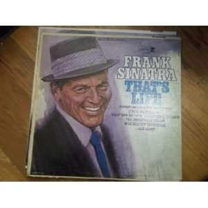 Frank Sinatra thats life(Vinyl Record)