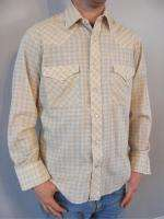 vtg WESTERN PEARL SNAP shirt cowboy M ATOMIC FABRIC