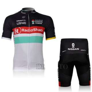 New Sport Cycling Bicycle Bike Comfortable Outdoor Jersey + Shorts