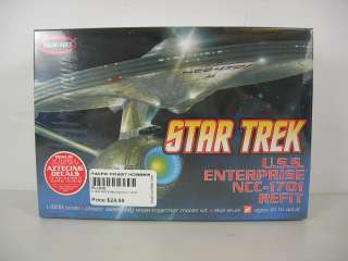 Polar Lights 1/1000 Star Trek USS Enterprise NCC 1701 A