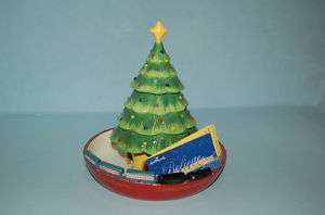 Hallmark Polar Express CERAMIC CANDY DISH BOWL MINT NEW