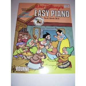 Walt Disneys Easy Piano Book 1 (Levels 2&3) David Carr Glover Books