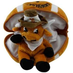 Texas Longhorns Hidden Plush Bear Football Toy Electronics