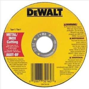Dewalt   Type 1 Metal Thin Cut Off Wheels 4 1/2 X .045 X 7/8 Xp Cutoff